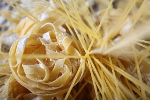 Pasta (nidos y espaguetis)