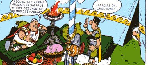 """Astérix Obélix Romano Centurión"""