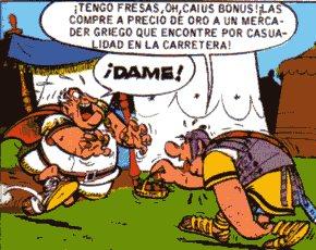 """""""Astérix Obélix Romano Fresas"""""""