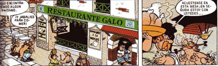 """Astérix Obélix Restaurante Galo Roma"""