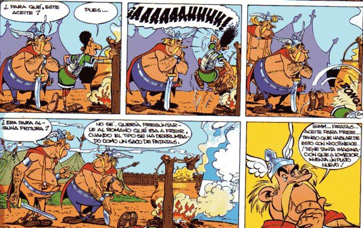 """""""Astérix Obélix Belga Patatas Fritas"""""""