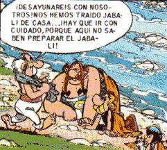 """Astérix Obélix Hispania España Galo"""