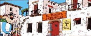 """Astérix Obélix Hispania España Restaurante"""