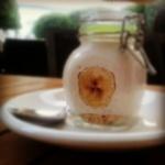 """""""VIII Concurso de Tapas de Lugo. 8. Canela Bakery Coffee. Galleta, toffee e plátano"""""""